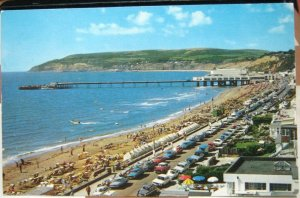 England The Esplanade and Pier Sandown Isle of Wight - unposted