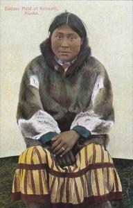 Alaska Eskimo Maid Of Keewalik