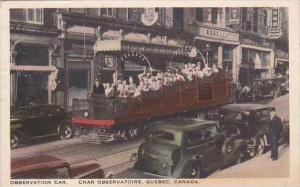 Canada Ontario Toronto Observation Car 1941