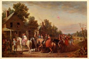 Virginia Wedding   Artist: William Ranney