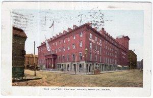 Boston, Mass, The United States Hotel