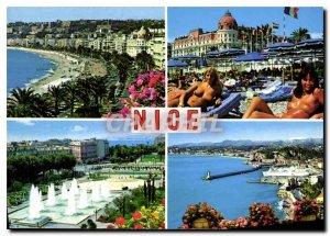 Postcard Modern French Riviera French Riviera Nice Alpes Maritimes