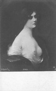 H Rondel, Artist Russian Nude Non Postcard Backing