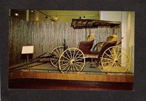 NY Adirondack Museum Carriage President Roosevelt Blue Mountain Lake New York PC
