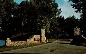 Minnesota Paynesville Lake Koronis Assembly Grounds Entrance