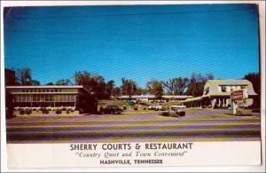 Sherry Courts & Restaurant, Nashville TN