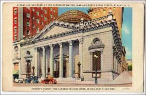 Albany Savings Bank, Albany NY