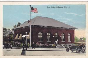 Post Office (Exterior), Columbia, Missouri, 1910-1920s