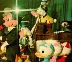 Vtg Chrome Postcard Walt Disney World 1970s Mickey Mouse Revue Unused UNP