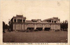 CPA AK Dakar - La Gare du D. S. L. SENEGAL (778440)