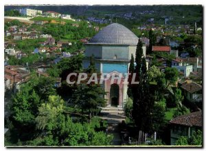 Postcard Modern Yesil Turbe Bursa Turkiye