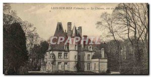 Old Postcard Lion Sur Mer The castle