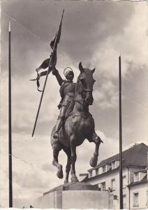 France Compiegne La Statue de Jeanne d'Arc
