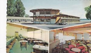 3-views,  Regent Motel,  Beauport,  Quebec,  Canada,  40-60s