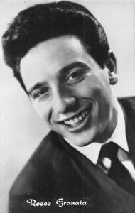 Actor Rocco Granata Italian-Belgian singer, songwriter