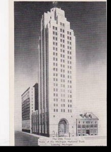 Michigan Lansing The Olds Tower Home Of The Michigan National Bank Dexter Pre...