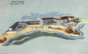 Hotel Condado - San Juan PR, Puerto Rico - pm 1951 - Linen