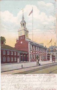 Pennsylvania Philadelphia Independence Hall Chestnut Hall Chestnut Street Fro...