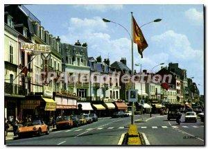 Modern Postcard Trouville Reine Des Plages Boulevard Moureaux PORSCHE 911