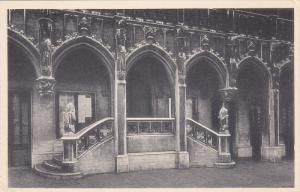 Hotel De Ville, Escalier Des Lions, BRUXELLES, Belgium, 1910-1920s