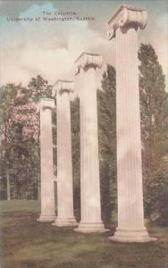 Washington Seattle The Columne University Of Washington Albertype