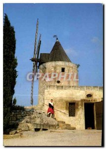 Postcard Modern Beautiful Images of Provence Mireille the mill of Daudet A