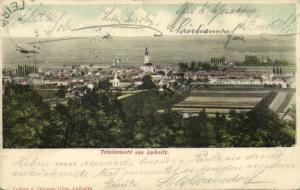 austria, LEIBNITZ, Totalansicht (1903)