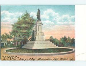 Pre-1907 PARK SCENE Providence Rhode Island RI hp9573