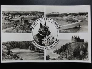 Scotland: Portpatrick, Wigtownshire, Multiview c1939 RP