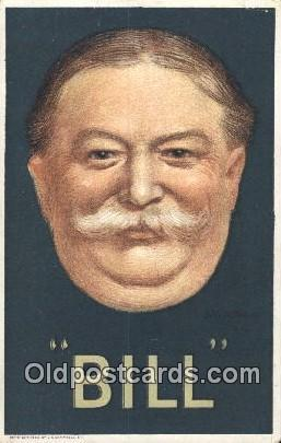 William Taft 27th USA President Postcard Postcards