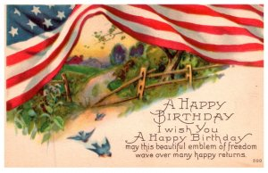 Birthday , Patriotic , American Flag