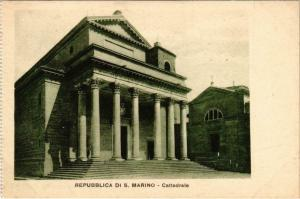 CPA Republica di S. Marino Cattedrale SAN MARINO (801727)