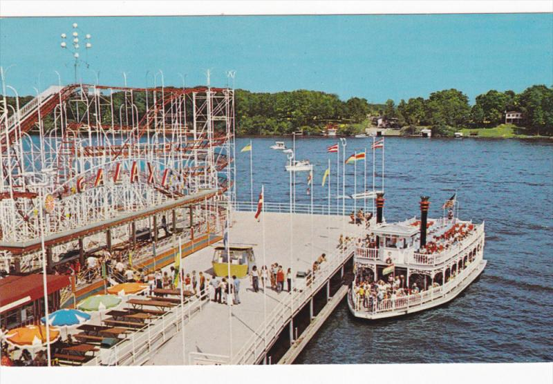 Amut Park Ferry Boat Lake Shafer Indiana Beach Monticello