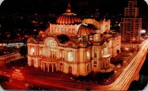 Mexico Mexico City El Palacio de las Bellas Artes