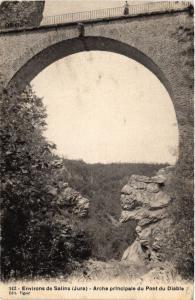 CPA Env.de SALINS Arche principale du Pont du Diable (447263)