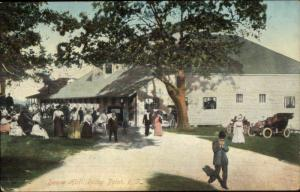 Rocky Point RI Dance Hall c1910 Postcard