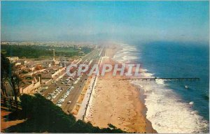Postcard Modern San Francisco Beach and Great Highway