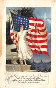 Flags Post Cards 1919