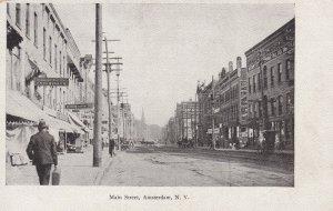AMSTERDAM, New York, 1901-1907; Main Street