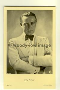 b1190 - German Film Actor , Willy Fritsch - postcard