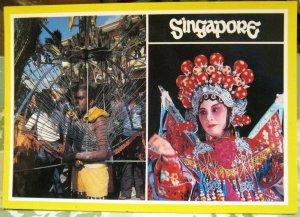 Singapore Kavadi Carrier Thaipusam Chinese Opera Wayang - posted 1990