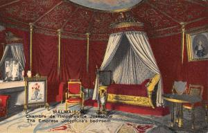 France Malmaison Chateau, Chambre Empress Josephine's bed-room interior