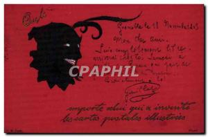 Old Postcard Devil Postcards illustrees