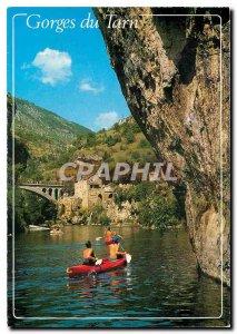 Postcard Modern Gorges du Tarn Lozere St Chely Tarn