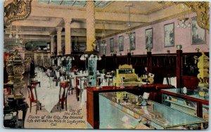 1910s Los Angeles CA Postcard THE ORIENTAL CAFÉ Restaurant 445 So. Main Street