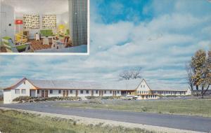 2-views,  La Lorraine Motel,  Lachute,  Quebec,  Canada,  40-60s