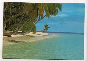 MALDIVES ISLANDS, 1985 used Postcard