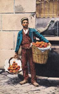 Italy Typical Fruit Vendor