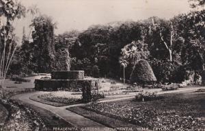 RP: Peradeniya Gardens , Ornamental Walk , CEYLON , 20-30s