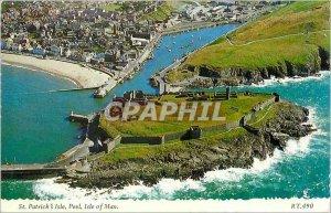 Modern Postcard St Patrick's Isle Peel Isle of Man